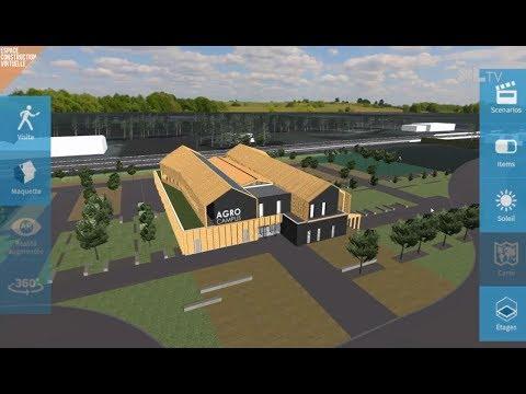 Le chantier de l'Agrocampus avance sur le technpôle Agrolandes
