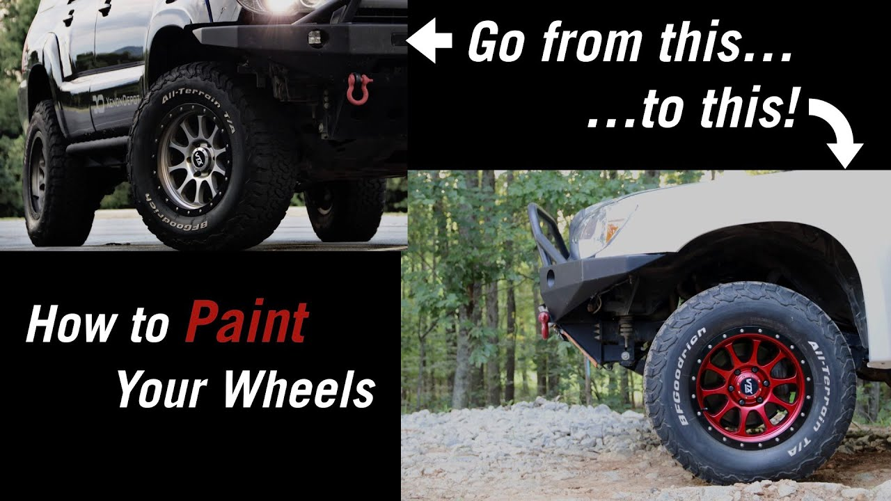 How to Paint Your Wheels - DIY - Offroad - Overland - 4x4 - Custom