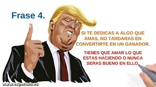 DONALD TRUMP 10 Mejores FRASES