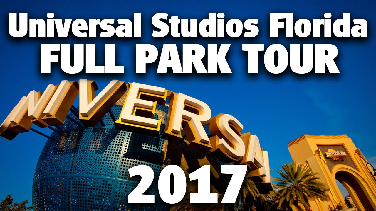 2017 Full Park Tour And Overview 4k Universal Studios Florida