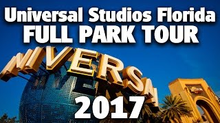 2017 Full Park Tour and Overview | 4K | Unive...