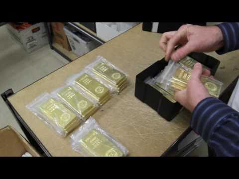 Gold Bars Royal Canadian Mint .9999 Gold Bullion