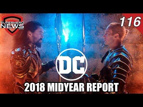 DC Films Midyear Report - Geoff Johns out, Aquaman, Wonder Woman 1984, The Batman, 2 Joker movies