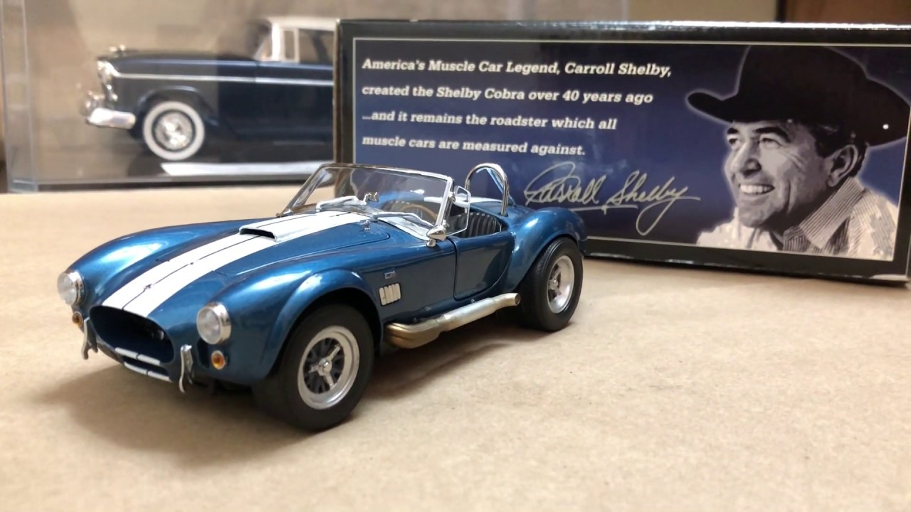 Wix Promotional Car 1965 Shelby Cobra 427 S//C Die Cast