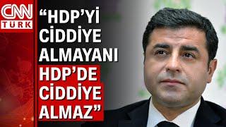 HDP'li Demirtaş'tan ilkesel ittifak açıklaması