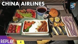 REPLAY #4: Hạng phổ thông đặc biệt China Airlines: Đài Bắc-New York | Yêu Máy Bay