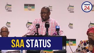 WATCH   'Restructure SAA but maintain national airline status' - ANC's Enoch Godongwana