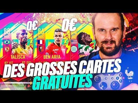 FIFA - ON RÉCUPÉRE ET ON TESTE DES ÉNORMES CARTES GRATUITES EN D1 RIVALS!!!