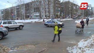 Почти 100 ДТП с пешеходами в 2017-ом в Череповце: началась акция «Пешеходный переход»
