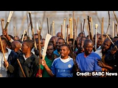 Mining Company Fires 12,000 Striking Workers in South Africa