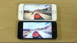 Apple iPhone SE vs iPhone 5S - Gaming Comparison!(, 2016-04-06T20:40:20.000Z)
