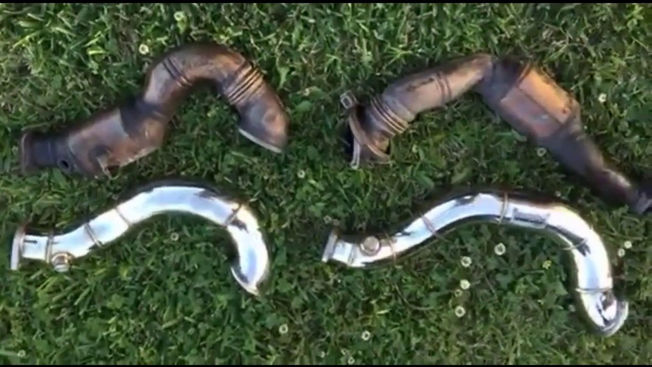 XS Power Downpipes Install BMW N54