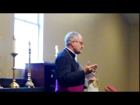 Bishop Faure conference 11-29-15 Stella Maris Chapel - Houst