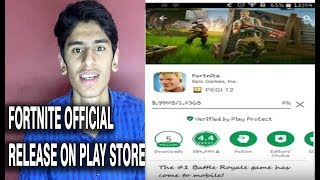 Official Fortnite Android Released in Play Store|FULL Explained