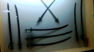 knifes used by tipu sultan