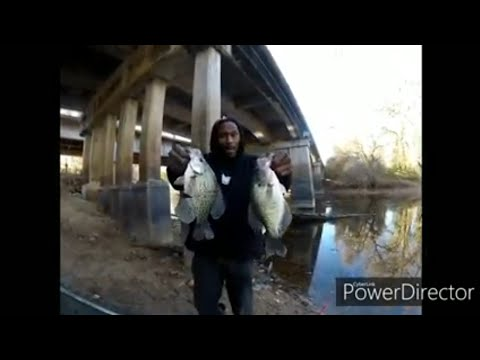 CREEK  FISHING FOR FALL CRAPPIE
