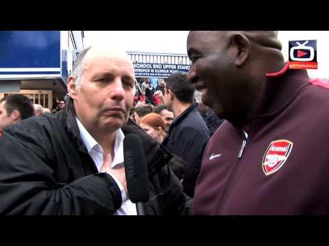 Arsenal 1 v QPR 0 - Fans going mental after big win - ArsenalFanTV.com
