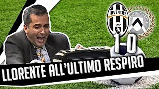 Repeat youtube video DS 7Gold - (JUVE UDINESE 1 0) Llorente all'ultimo respiro