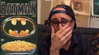 Brad Tries 1989 Batman Cereal
