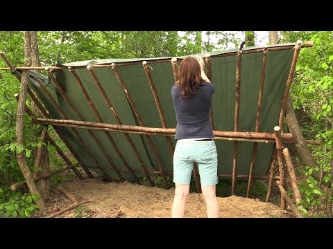 Building A Semi-Permanent Shelter (Part 1 of 3)