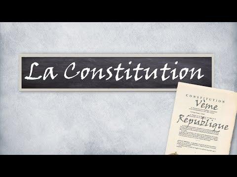Qu'est ce que la Constitution ? #Normes E03