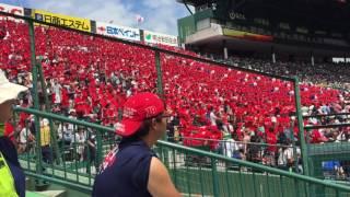 彦根東高校 応援歌 狙い撃ち 彦根東高校の大応援団 夏の甲子園 2017