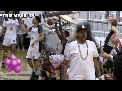 JAM VS JELLY? Mac McClung, Shareef O'Neal, Jahvon Quinerly ALL GO CRAZY AT Allen Iverson Classic!!