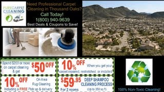 Carpet  Cleaning Thousand Oaks, CA | Company Service - Home, Office, Commercial
