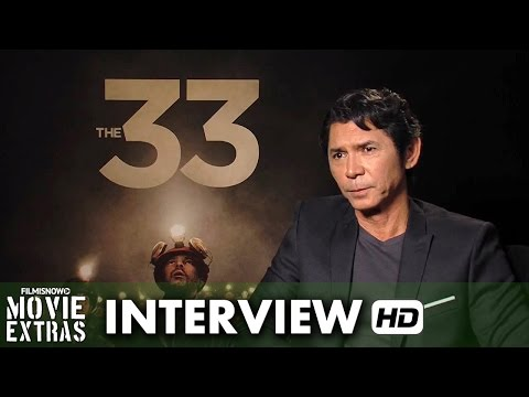 The 33 (2015) Official Movie Interview - Lou Diamond Phillips