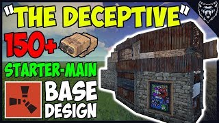 """RUST - """"The Deceptive"""" Strong Starter To Main Base Design - Building 3.2 (2018)"""