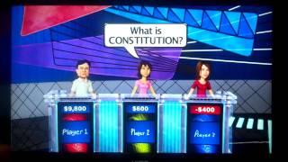 Jeopardy Nintendo Wii U Game 2