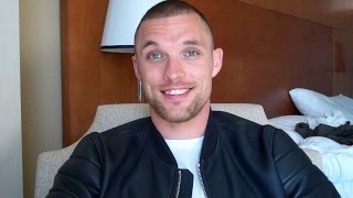 Ed Skrein Talks Deadpool Movie, The Transporter Refueled, Kill Your Friends and More