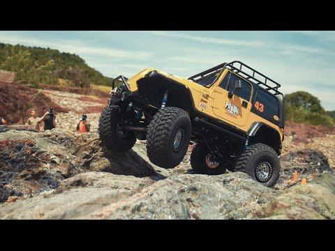 Rcmodelex Mex Jeep Yj Rock Crawling 10 Youtube