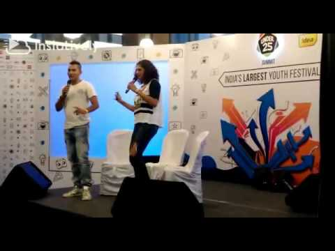 Under 25 Summit 2016 @ WTC Bangalore- Danish Sait & Kubra Sait Part 1