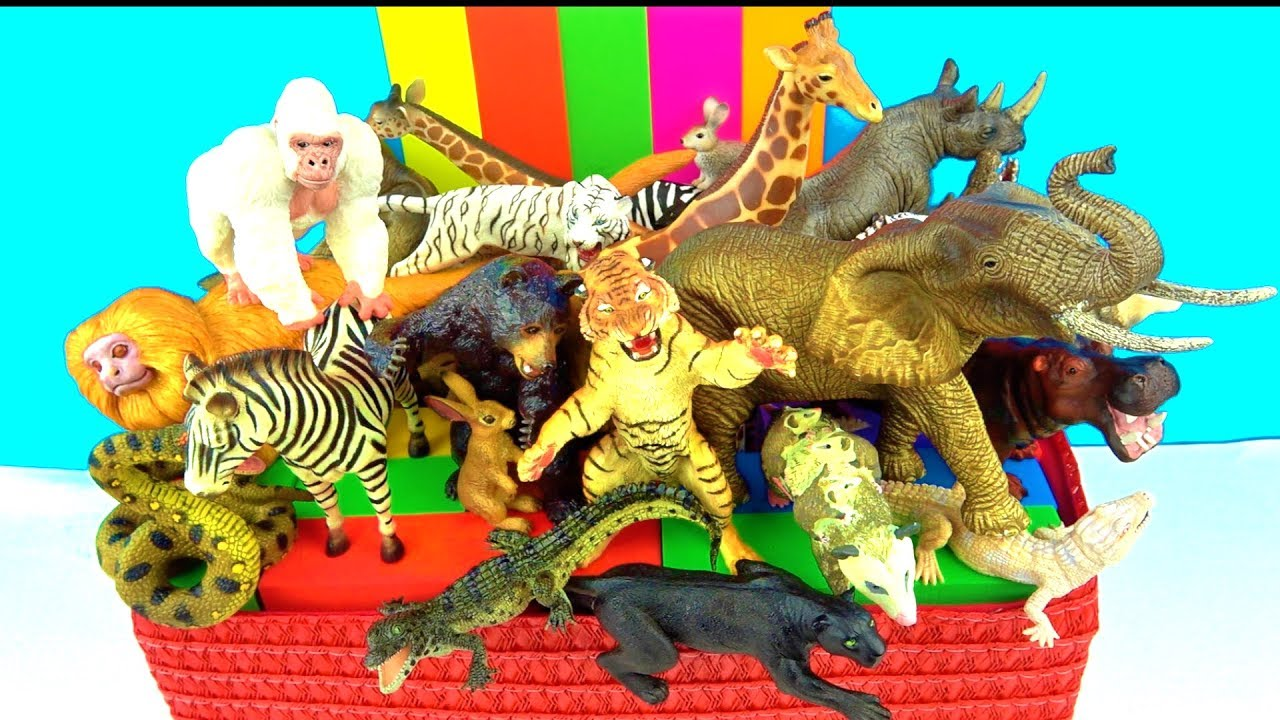 zoo animals toys animal wild learn names