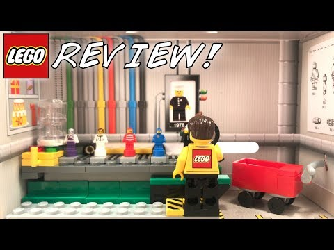 LEGO Minifigure Factory Set 5005358 Review! | 2018 40th Anniversary Of The Minifigure Promo!