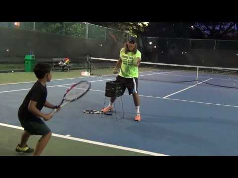 Thumbnail: LIKE RAFA NADAL, PASSION - RESPECT - INTENSITY = SAHIL 7 YEARS OLD