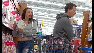 Farting at Walmart with THE POOTER - New Farting Prank