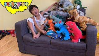 Skyheart's Dinosaur Plush Collection! Jurassic Dinosaur Toys for Children Kids Toddlers playtime