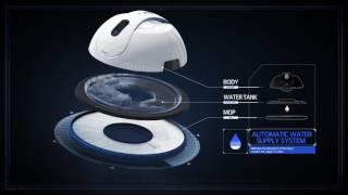 물걸레 로봇청소기 '아이센스'