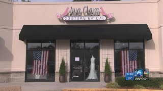 Virginia Beach bridal shop gives free dresses to military women, first responders