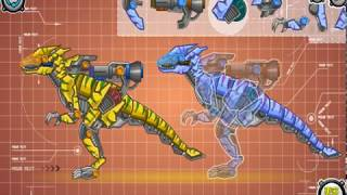 Мультик игра Роботы динозавры: Раптор (Mechanical Raptor toy)