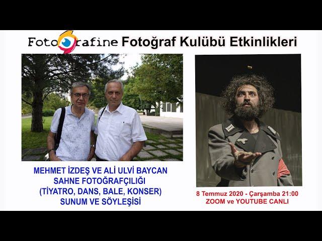 FOTOGRAFINE Sahne Fotoğrafçılığı - Konuklar: Mehmet İZDEŞ - Ali Ulvi BAYCAN