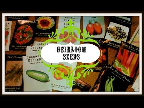 Heirloom Seeds For Your Garden~