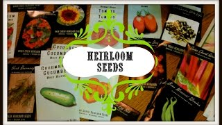 Heirloom Seeds For Your Garden Thumbnail