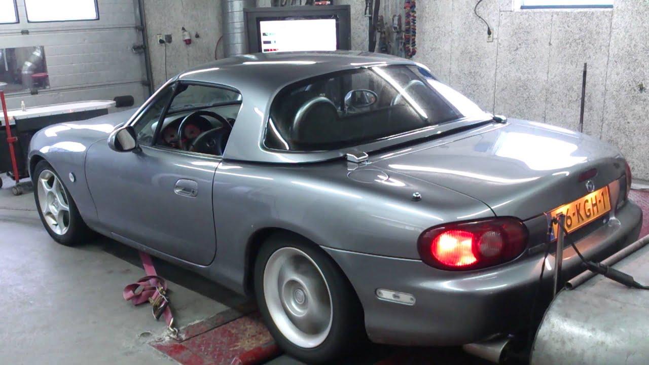 Mazda Mx5 Nb Fl 1 6 16v Testbank Speed Centre Youtube