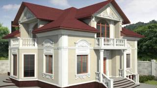 видео Дизайн проект жилого дома