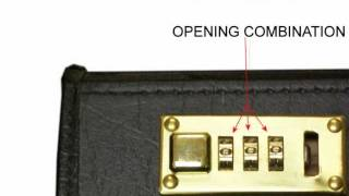 How to Reset your Combination Lock