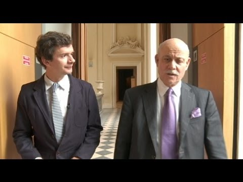 euronews interview - Jeremy Rifkin and 'lateral power' energy