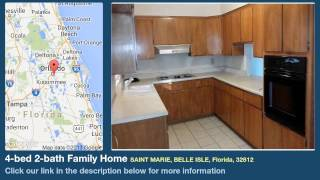4-bed 2-bath Family Home for Sale in Belle Isle, Florida on florida-magic.com